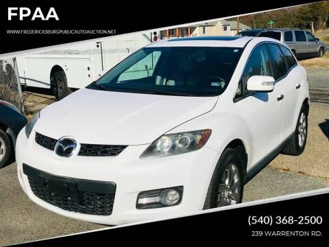 2009 Mazda CX-7 for sale at FPAA in Fredericksburg VA