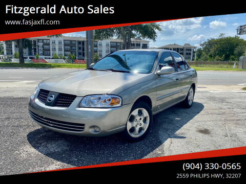 2004 Nissan Sentra for sale at Fitzgerald Auto Sales in Jacksonville FL