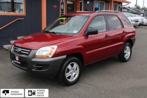 2005 Kia Sportage for sale at Sabeti Motors in Tacoma WA