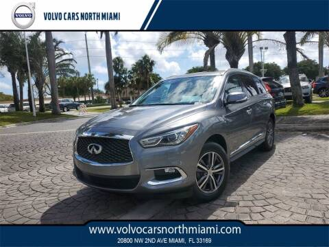2018 Infiniti QX60 for sale at Volvo Cars North Miami in Miami FL