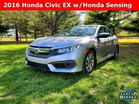 2016 Honda Civic for sale at Clark Chevrolet in Cayuga IN