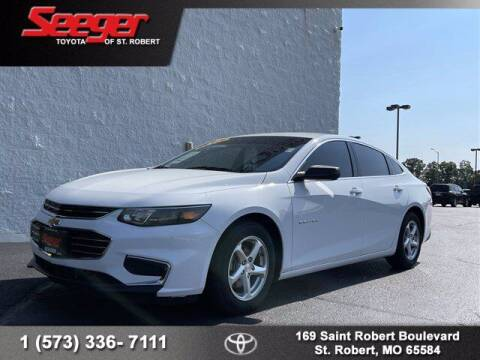 2016 Chevrolet Malibu for sale at SEEGER TOYOTA OF ST ROBERT in Saint Robert MO