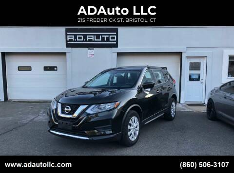 2017 Nissan Rogue for sale at ADAuto LLC in Bristol CT