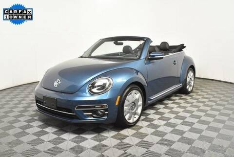 2019 Volkswagen Beetle Convertible for sale at CU Carfinders in Norcross GA