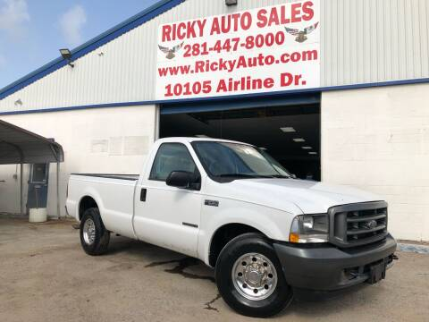 2003 Ford F-250 Super Duty for sale at Ricky Auto Sales in Houston TX