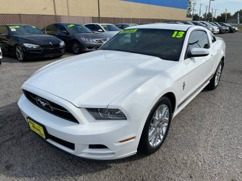 2013 Ford Mustang for sale at M.A.S.S. Motors in Boise ID