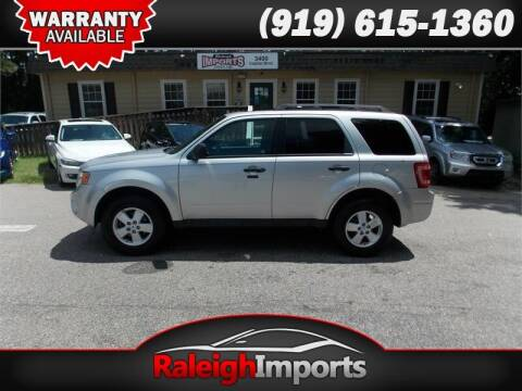 2012 Ford Escape for sale at Raleigh Imports in Raleigh NC