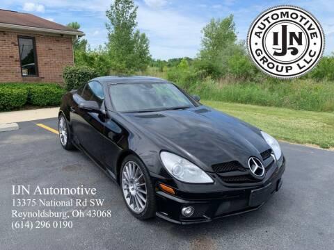 2010 Mercedes-Benz SLK for sale at IJN Automotive Group LLC in Reynoldsburg OH