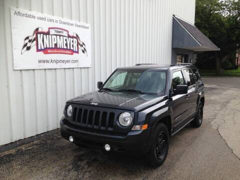 2014 Jeep Patriot for sale at Team Knipmeyer in Beardstown IL