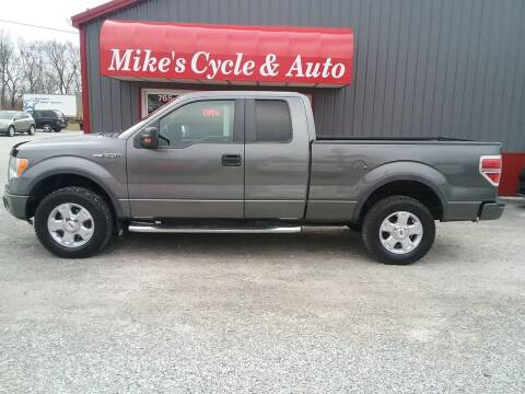 2010 Ford F-150 for sale at MIKE'S CYCLE & AUTO in Connersville IN