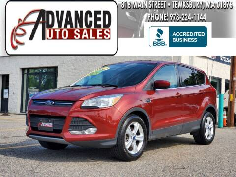 2015 Ford Escape for sale at Advanced Auto Sales in Tewksbury MA