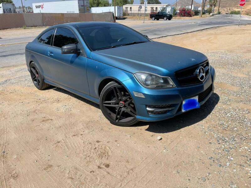 2014 Mercedes-Benz C-Class for sale at E and M Auto Sales in Bloomington CA
