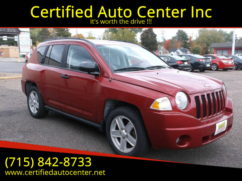 2007 Jeep Compass for sale at Certified Auto Center Inc in Wausau WI