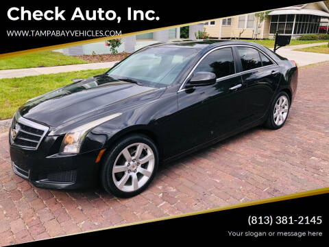 2014 Cadillac ATS for sale at CHECK  AUTO INC. in Tampa FL