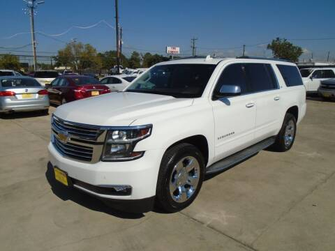 2015 Chevrolet Suburban for sale at BAS MOTORS in Houston TX