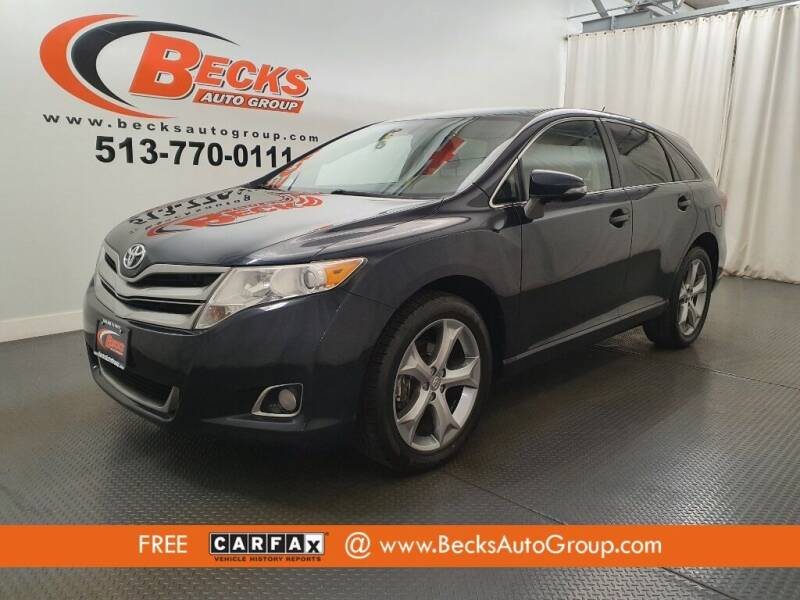 2013 Toyota Venza for sale at Becks Auto Group in Mason OH