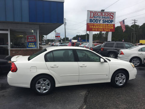 2007 Chevrolet Malibu for sale at Deckers Auto Sales Inc in Fayetteville NC