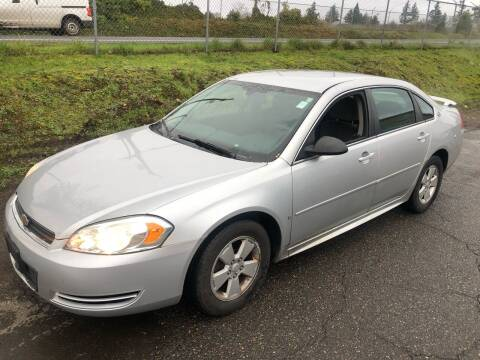 2009 Chevrolet Impala for sale at Blue Line Auto Group in Portland OR