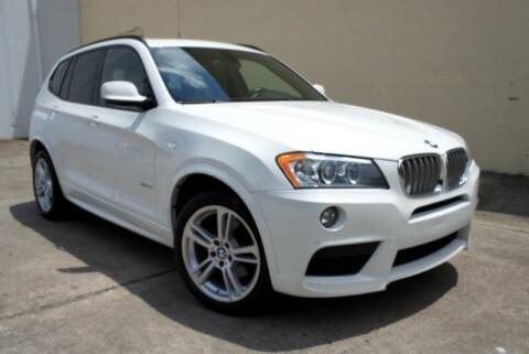 2013 BMW X3 for sale at CU Carfinders in Norcross GA