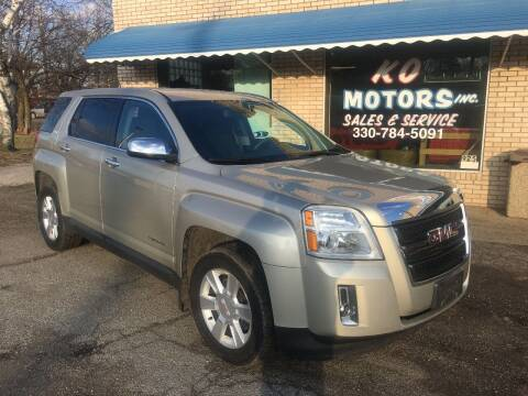 2013 GMC Terrain for sale at K O Motors in Akron OH