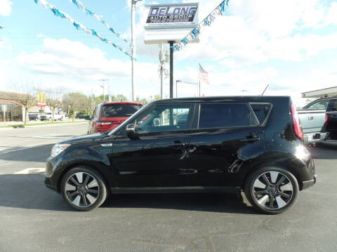 2016 Kia Soul for sale at DeLong Auto Group in Tipton IN