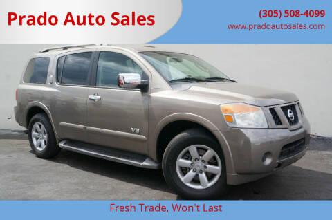 2008 Nissan Armada for sale at Prado Auto Sales in Miami FL