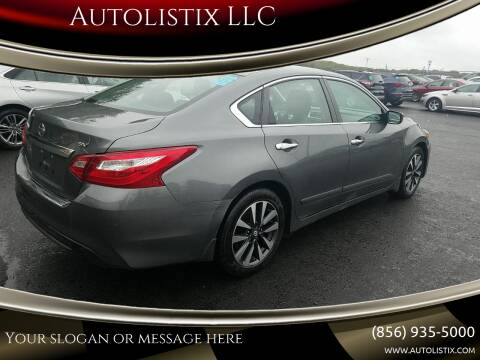 2016 Nissan Altima for sale at Autolistix LLC in Salem NJ