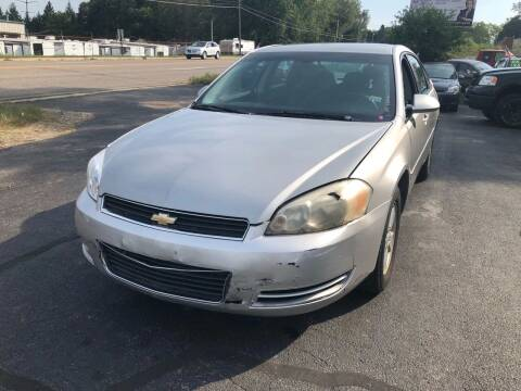 2007 Chevrolet Impala for sale at ARG Auto Sales in Jackson MI