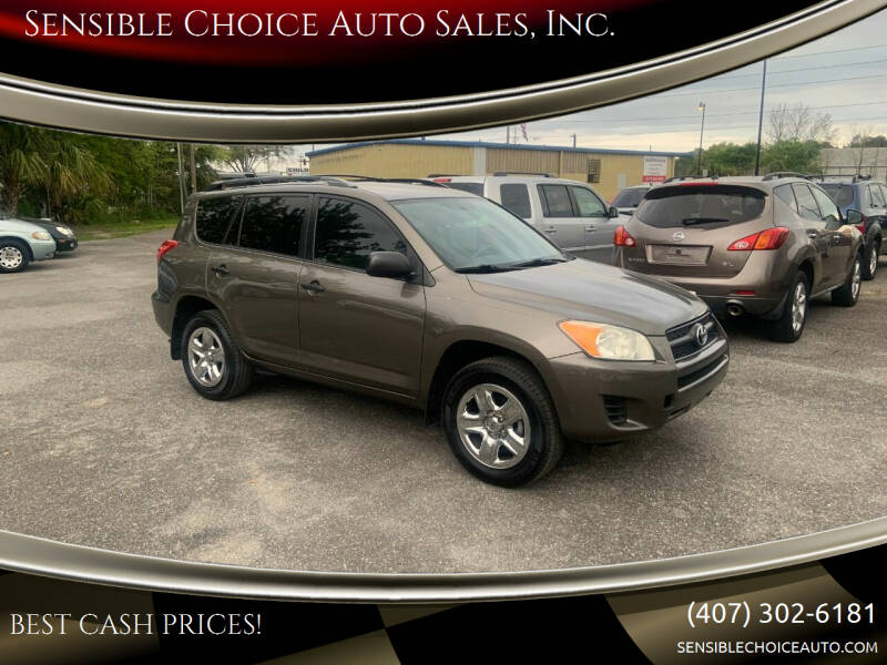 2012 Toyota RAV4 for sale at Sensible Choice Auto Sales, Inc. in Longwood FL