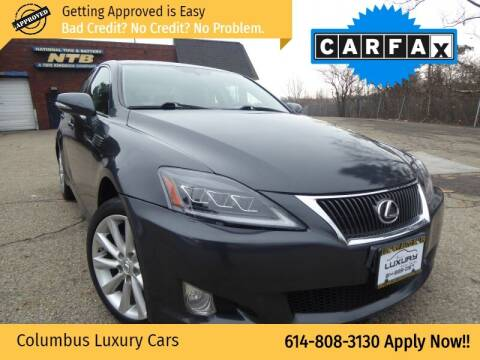 2010 Lexus IS 250 for sale at Columbus Luxury Cars in Columbus OH