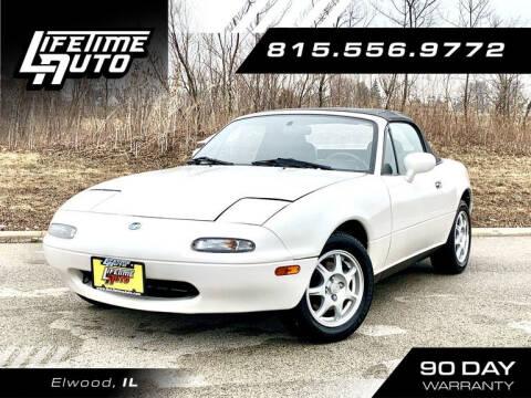 1997 Mazda MX-5 Miata for sale at Lifetime Auto in Elwood IL