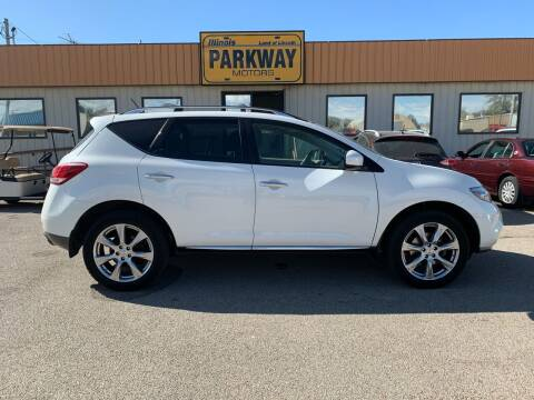 2014 Nissan Murano for sale at Parkway Motors in Springfield IL