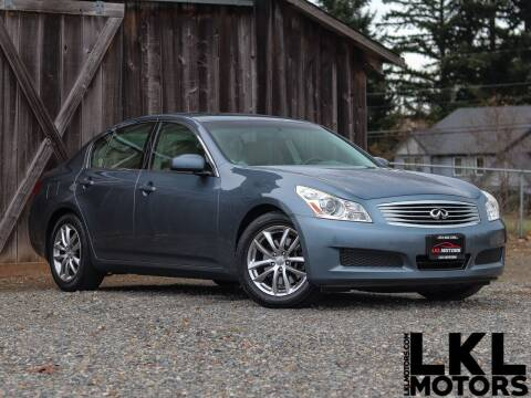 2007 Infiniti G35 for sale at LKL Motors in Puyallup WA