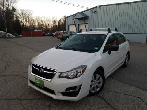 2015 Subaru Impreza for sale at Granite Auto Sales in Spofford NH