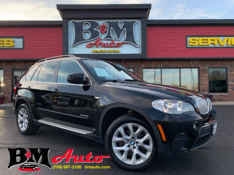 2013 BMW X5 for sale at B & M Auto Sales Inc. in Oak Forest IL