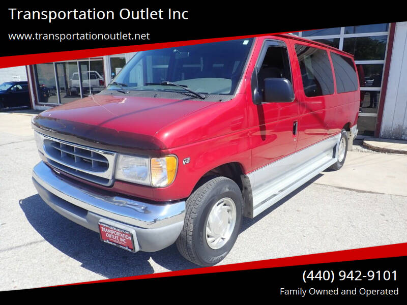 2000 Ford E-150 for sale at Transportation Outlet Inc in Eastlake OH