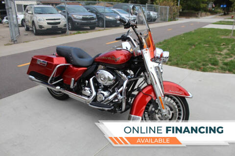 2013 Harley-Davidson Road King for sale at K & L Auto Sales in Saint Paul MN