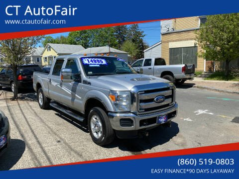 2012 Ford F-250 Super Duty for sale at CT AutoFair in West Hartford CT
