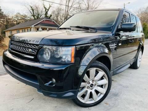 2012 Land Rover Range Rover Sport for sale at E-Z Auto Finance in Marietta GA