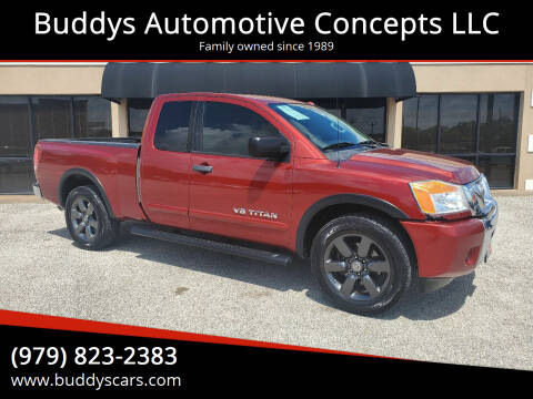 2015 Nissan Titan for sale at Buddys Automotive Concepts LLC in Bryan TX
