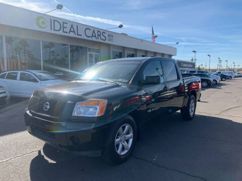 2014 Nissan Titan for sale at Ideal Cars in Mesa AZ