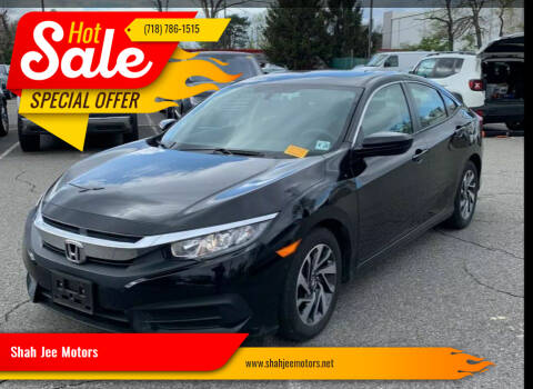 2018 Honda Civic for sale at Shah Jee Motors in Woodside NY
