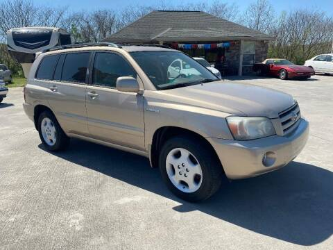 2004 Toyota Highlander for sale at Autoway Auto Center in Sevierville TN