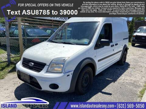 2012 Ford Transit Connect for sale at Island Auto Sales in East Patchogue NY