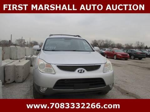 2010 Hyundai Veracruz for sale at First Marshall Auto Auction in Harvey IL