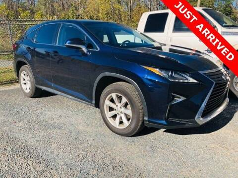 2016 Lexus RX 350 for sale at Brandon Reeves Auto World in Monroe NC