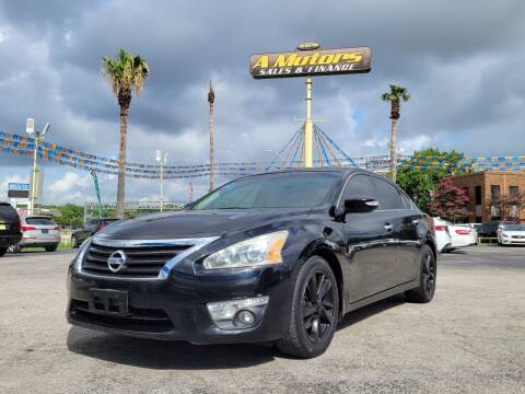 2015 Nissan Altima for sale at A MOTORS SALES AND FINANCE in San Antonio TX