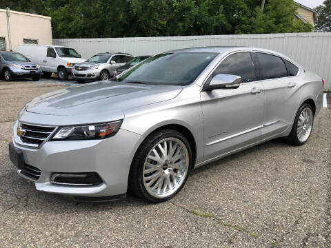 2018 Chevrolet Impala for sale at SKY AUTO SALES in Detroit MI