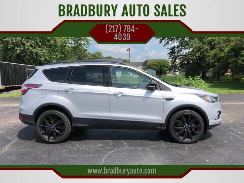 2017 Ford Escape for sale at BRADBURY AUTO SALES in Gibson City IL