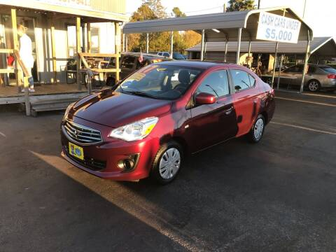 2017 Mitsubishi Mirage G4 for sale at Texas 1 Auto Finance in Kemah TX
